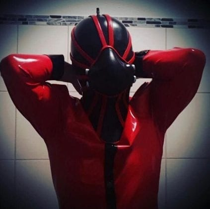 Goth Rubberdoll From Hell (4)