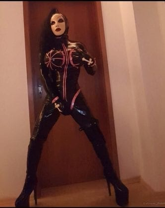 Goth Rubberdoll From Hell (5)