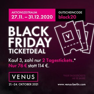 VENUS Black Friday Angebot